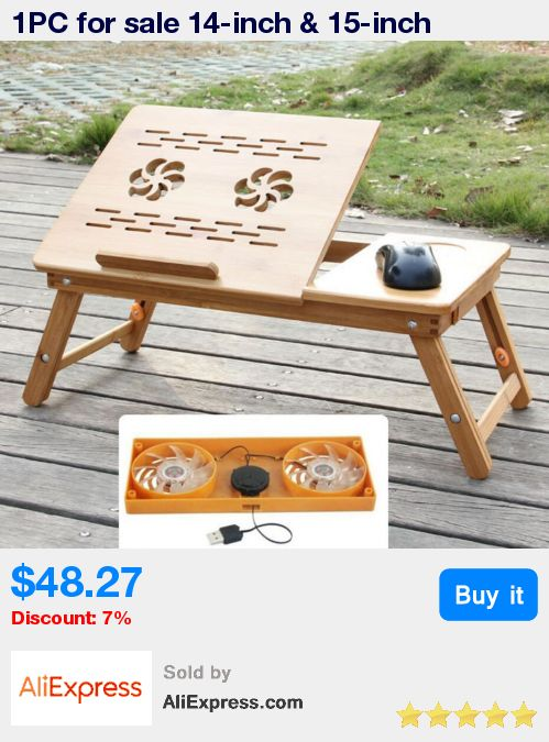 1PC for sale 14-inch & 15-inch high-end folding laptop cooling table bamboo computer desk has a drawer SY22D5 * Pub Date: 14:37 Jun 27 2017