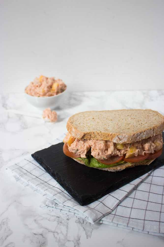 Kip hawai salade - gezond, snel & makkelijk / Kokerellen