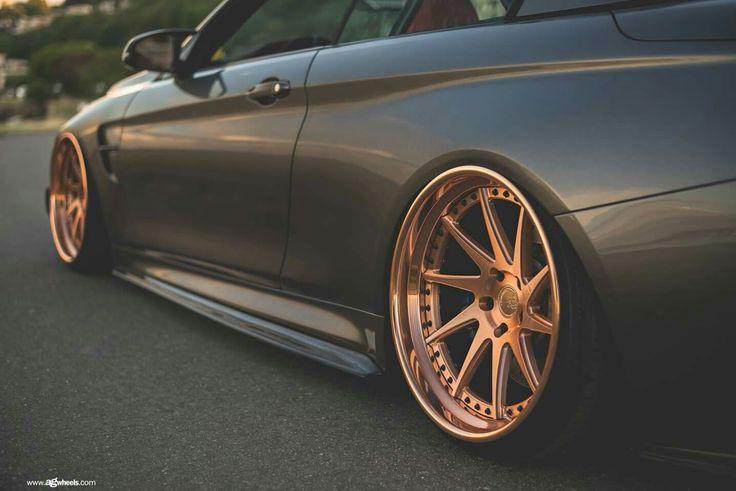 BMW F83 M4 cabrio grey slammed