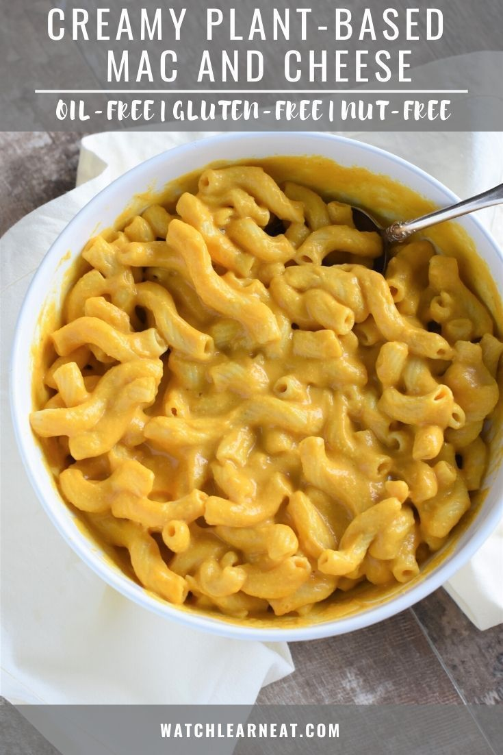 Creamy Plant Based Mac Cheese Watch Learn Eat Recipe In 2020 Plant Based Cheese Sauce Plant Based Mac N Cheese Dairy Free Pasta