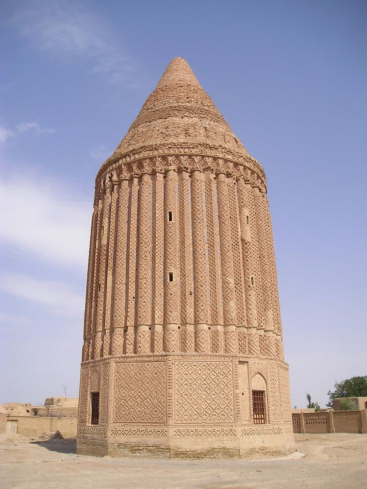 Iranian Architecture Ali-abad Tower Kashmar
