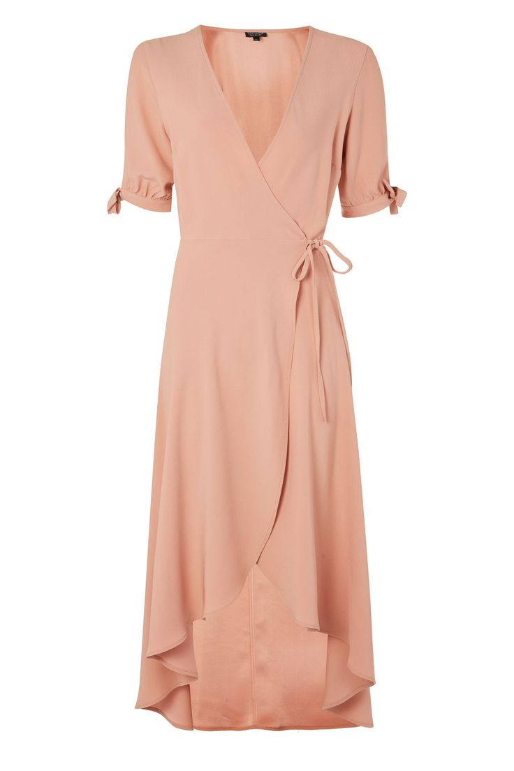 Crepe Wrap Midi Dress - Dresses - Clothing - Topshop Europe