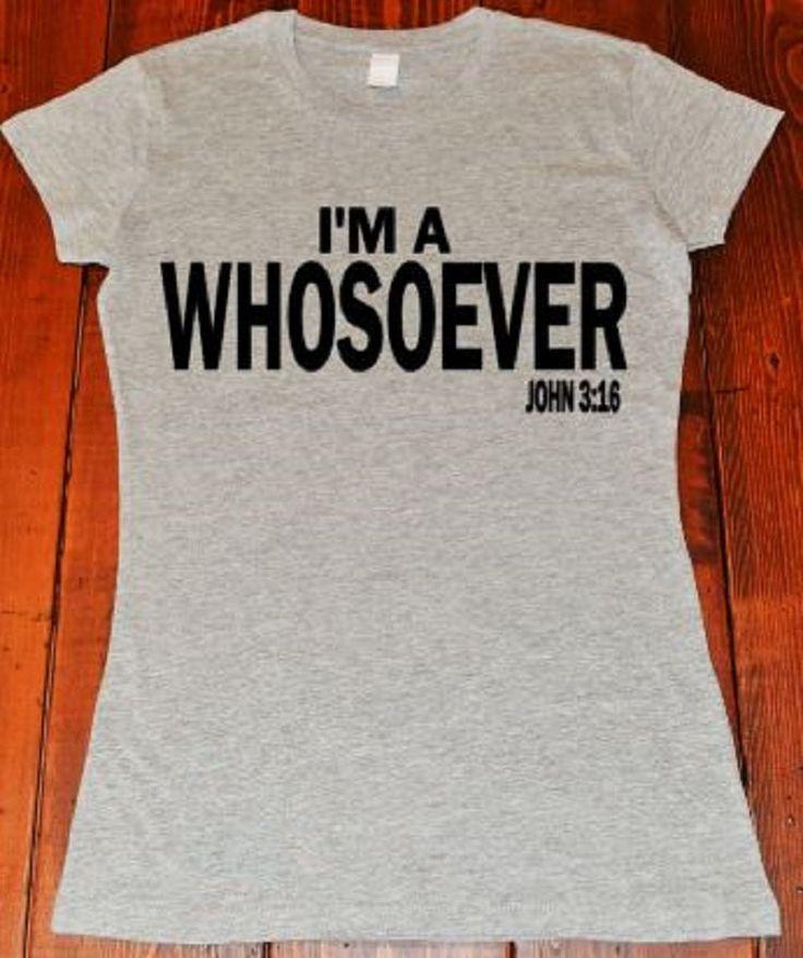 I'm A Whosoever Grey Tee//Women's Grey Shirt//Ladies Grey Shirt//Sm-3XL by ButlerandCompanyTees on Etsy
