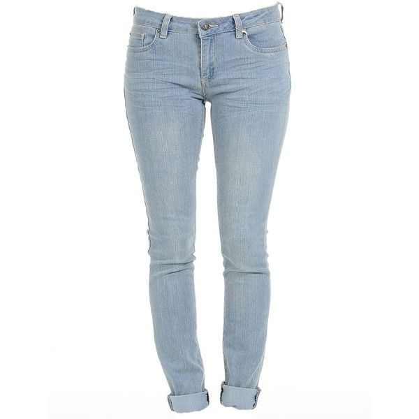 Blue Weekend Skinny Jeans | $14.50 | Cheap Jeans Fashion | MODdeals.com found on Polyvore