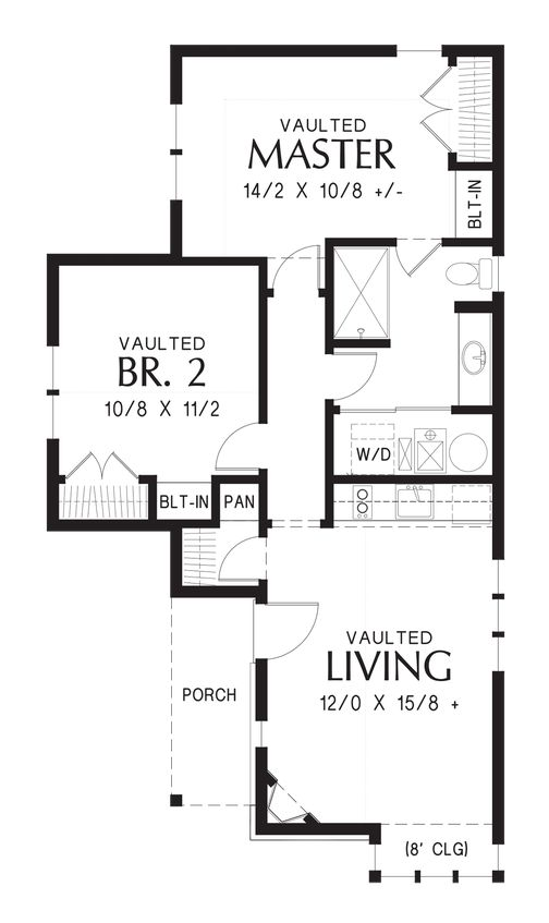 130 best images about floorplans under 1000 sq ft on for 1000 sq ft house kit