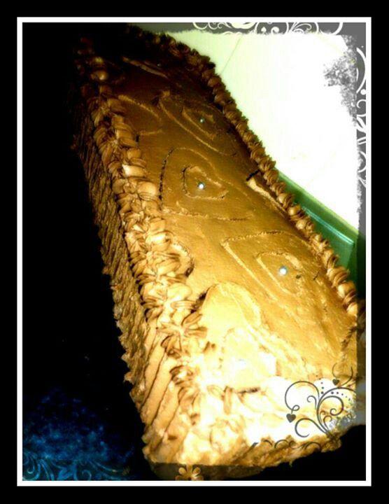 Chocolate cake! Just because...