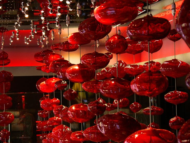 Custom made project for Klubb Rouge, Beijing - #chandelier #handmade #luxury #lightingdesign #interiordesign
