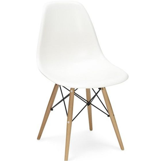 Brooklyn stol (Eames DSW) vit 995 SEK #chair