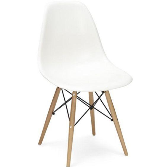 Brooklyn stol Eames DSW vit 995 SEK chair New  : 17acde145288b563baadf852f567446f from www.pinterest.com size 550 x 562 jpeg 13kB