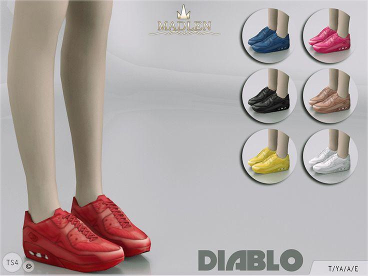 MJ95's Madlen Diablo Sneakers