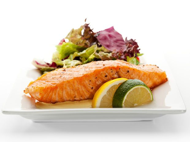 losos, ryba, tuk, zdravá strava