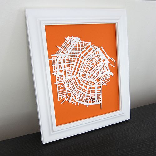 Best Paper Cutting Images On Pinterest Papercutting Cut - Artist creates ridiculously detailed paper cuts of city maps