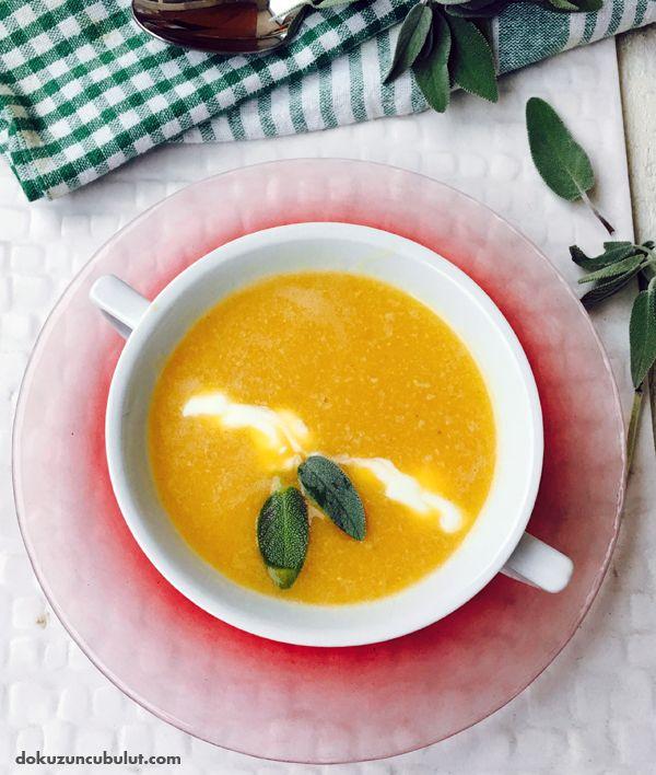 balkabağı çorbası mercimekli