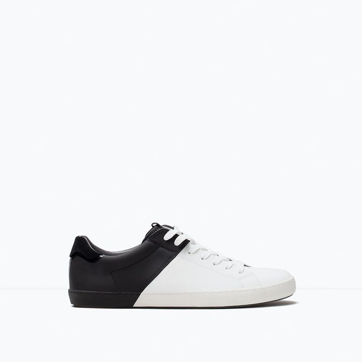 Image 1 of COMBINED SNEAKER from Zara