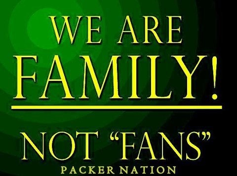 Green Bay Packers Family ღ