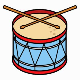Dibujos Para Colorear Maestra De Infantil Y Primaria Instrumentos De Percusion Para Colorear Y Para Imprimi Silhouette Drawing Music Themed Music Worksheets