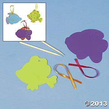 Magic Color Scratch Bright Fish $6.50 for 24 craft idea