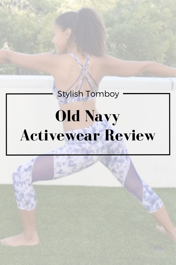 Click through for my honest review of the stylish and SO affordable Old Navy Activewear Line! :-)