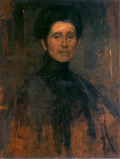 Olga Boznańska   Autoportret / Self-Portrait, 1906, oil on board, 67,5 x 57 cm, Muzeum Narodowe, Kraków