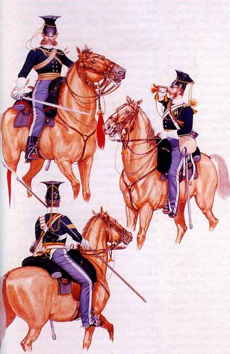Форма 17-го уланского полка
