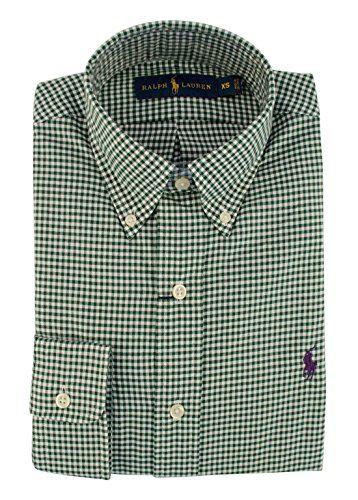 POLO RALPH LAUREN Polo Ralph Lauren Men'S Gingham Twill Shirt. #poloralphlauren #cloth #