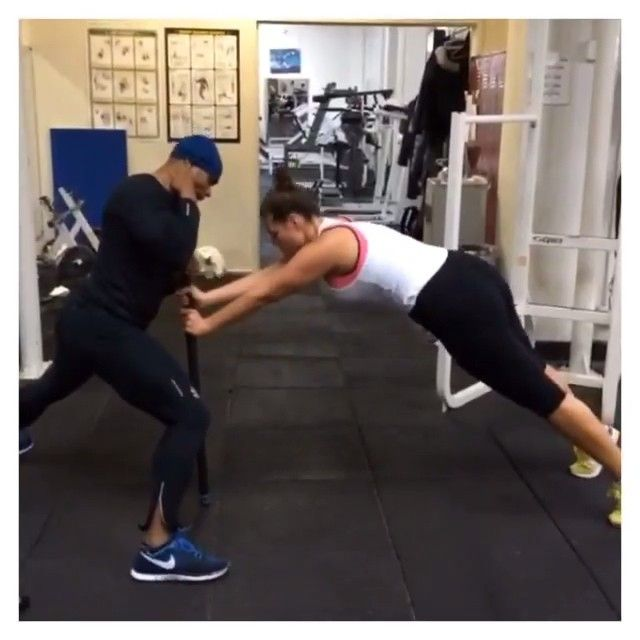 Pin for Later: Model Ashley Graham's Intense Workouts Are Not For the Weak Cardio Queen