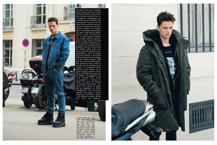 L'Uomo Vogue by Andreas Larsson - Adamsky