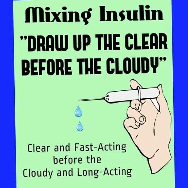 Claritin Clear Meme Clear b4 Cloudy Insuli...