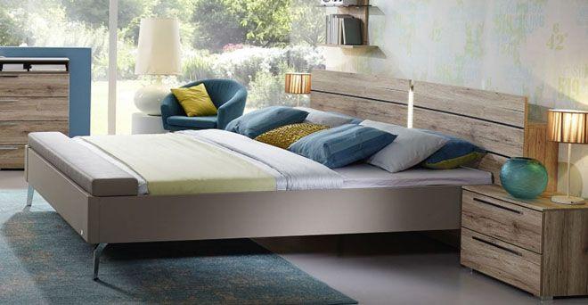 Rauch Doppelbett mit Sitzbank Eiche - Möbel Mit www.moebelmit.de