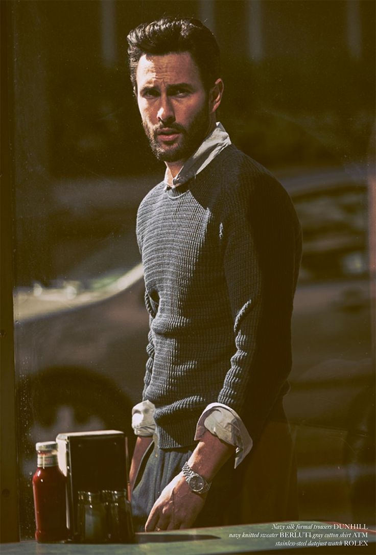 Man of the World: Noah Mills by Guy Aroch