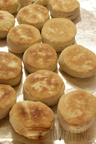 No Eggs No Milk Homemade Dinner Biscuits. Out of milk? Out of eggs? Don't fret. You can still make these simple biscuits. #sugarfree