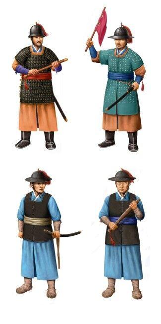 조선 수군 Joseon naval forces 출처(source,blog): http://m.blog.naver.com/PostList.nhn?blogId=dnjscjf1717&categoryNo=0