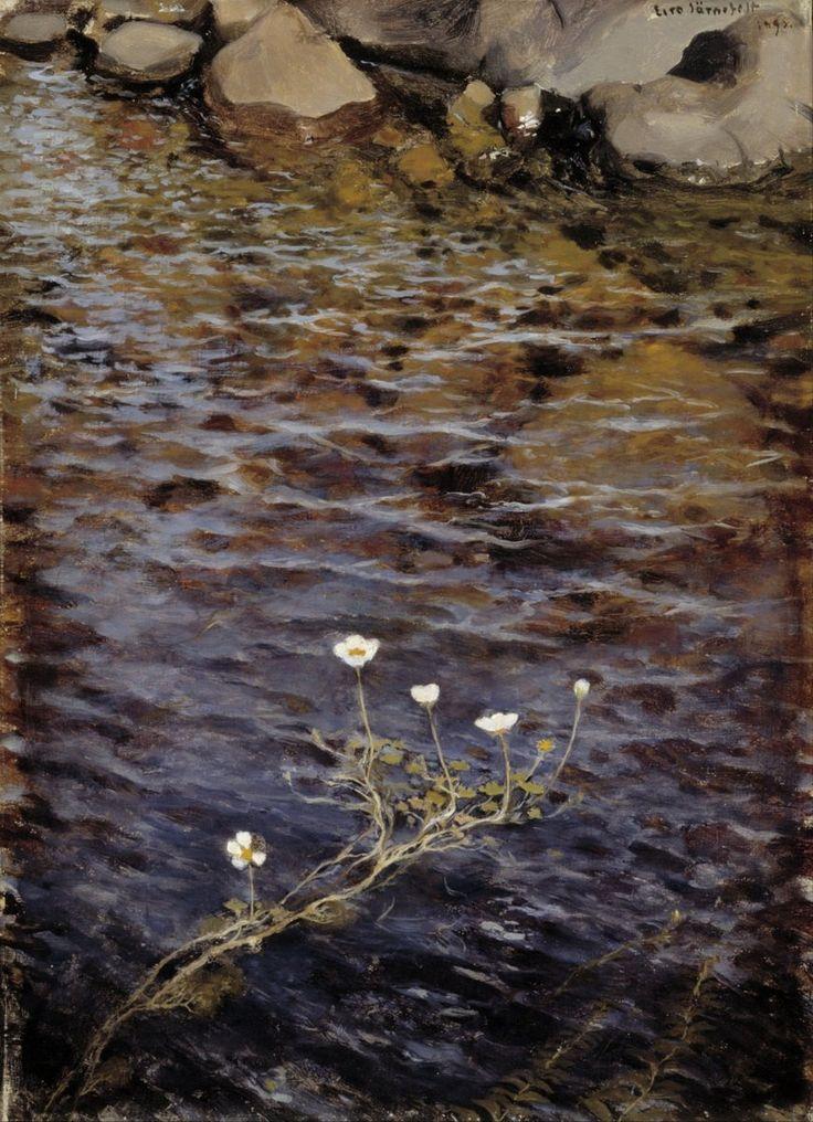 "Eero Järnefelt: ""Pond Water Crowfoot"""