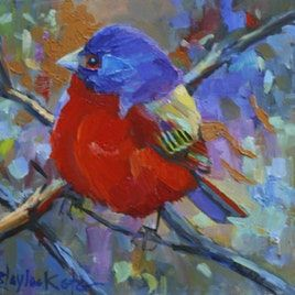Original artwork from artist Elizabeth Blaylock on the Daily Painters Gallery