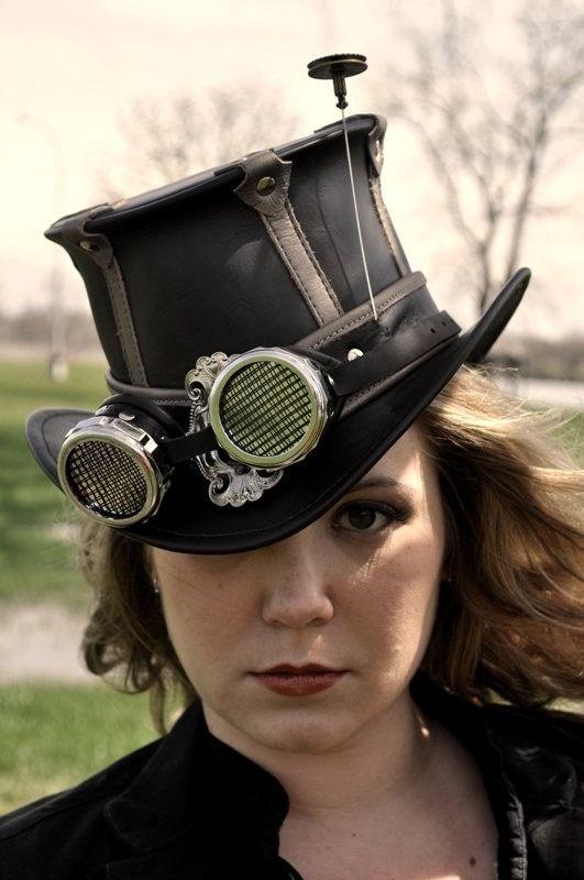 SteamPunk Girl -  #steampunk #steampunk girls #gothic #steam girl
