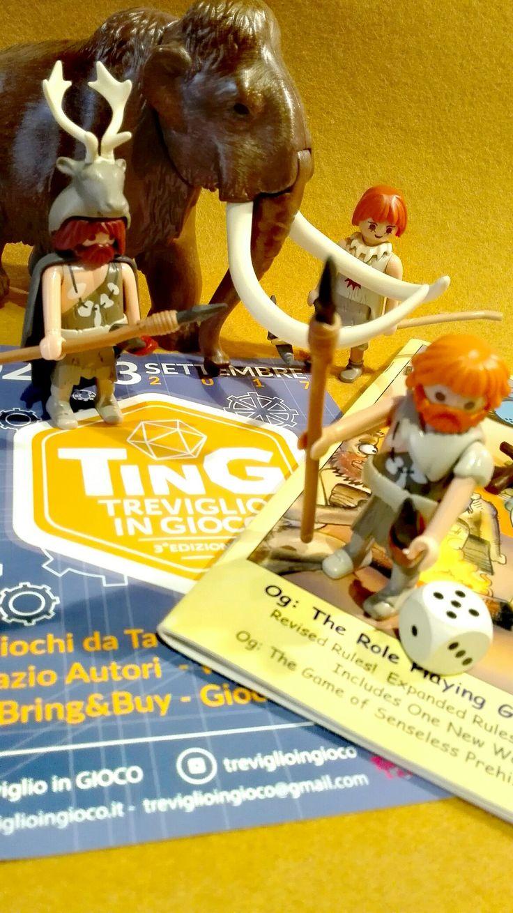 Se volete partecipare al primo raduno nazionale di collezionisti di playmobil, scrivete a treviglioingioco@gmail.com #playmobil #caveman #ting3