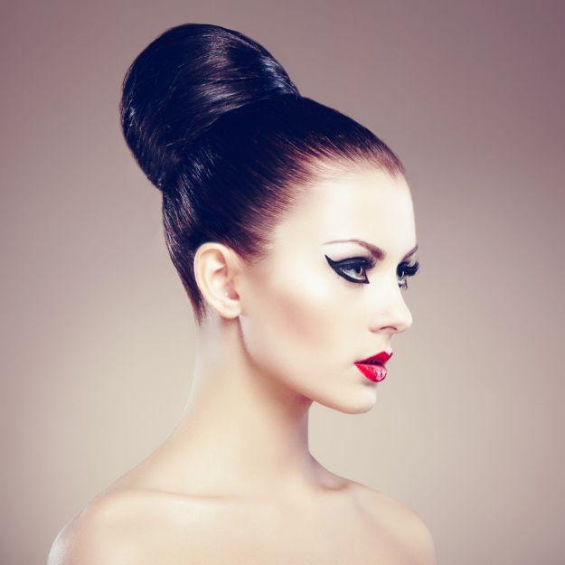 Прическа бабетта ::: onelady.ru ::: #hair #hairs #hairstyle #hairstyles