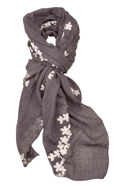 Holiday Clothing Aziza Scarf In Shadow