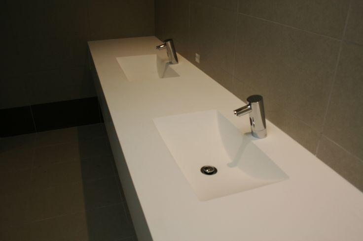 Custom Flute basin underslung