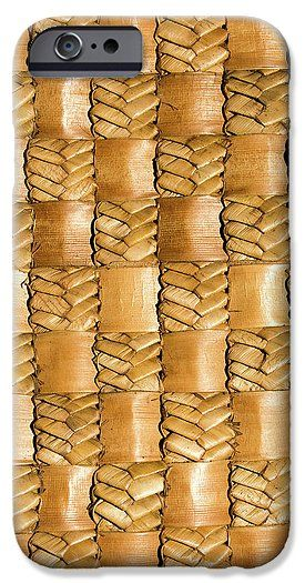 Flax IPhone 6 Case featuring the photograph Weaving Flax - Gold by Wairua o te Moana