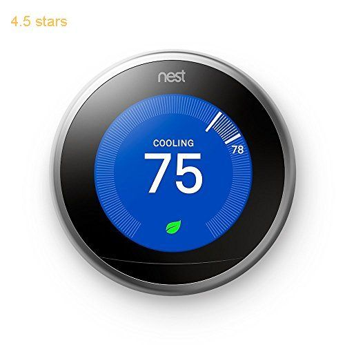 (Rating: 4.5 stars) Nest Learning Thermostat 3rd Generation Works with Amazon Alexa Nest Learning Thermostat Generation Amazon is a great pick from the hot selling items in Home Improvement  category. Click below to see its Availability and Price in your country.