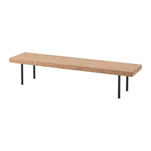 IKEA SINNERLIG coffee table Cork is a natural material giving variations in colour and appearance.