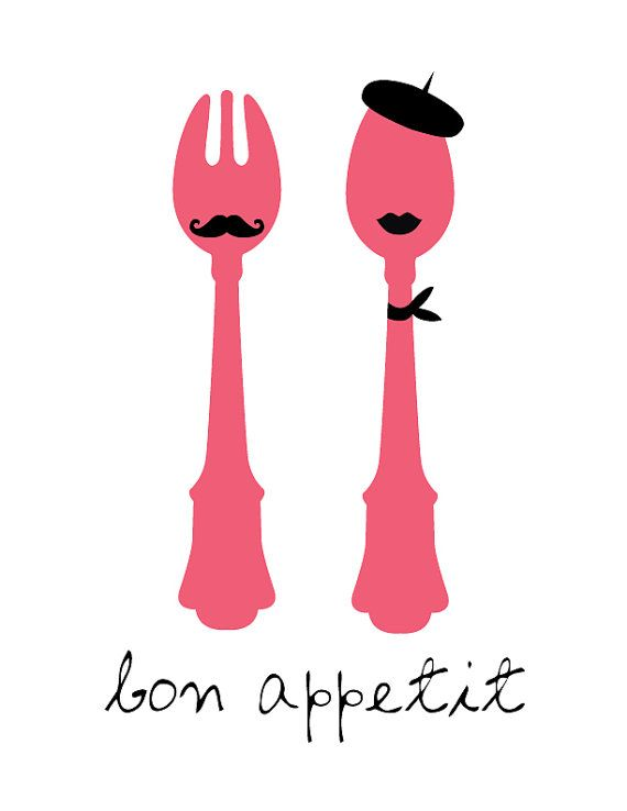 Bon Appetit wall art for kitchen, dream kitchen that is!