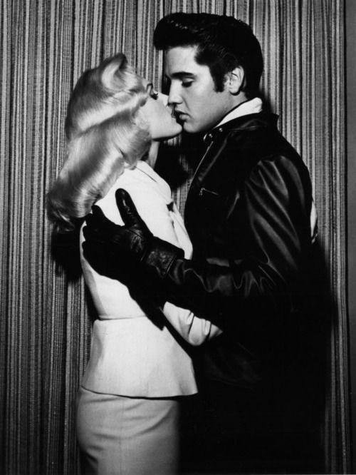 "Sometimes MISTAKENLY pinned as Ann Margaret and Elvis. This is a publicity photo with Hannerl Melcher that was taken in Las Vegas, NV in November 1957. She was Austria's representative in the 'Miss Universe' pageant. Elvis met Ann Margret for the first time in 1963 when they were filming ""Viva Las Vegas"" together."