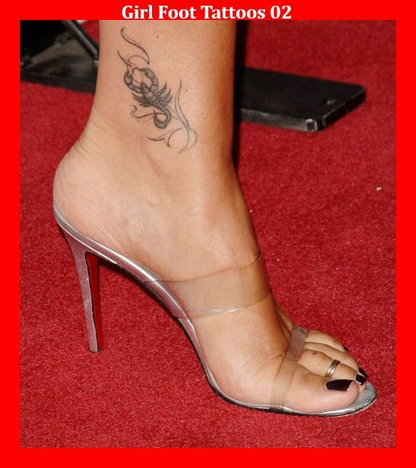 Girl Foot Tattoos 02