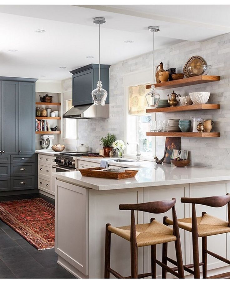 408 best kitchens images on pinterest kitchen ideas for Small kitchen hacks