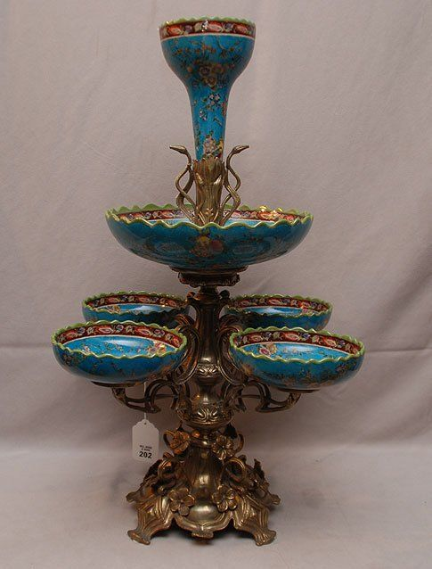 Best images about antique epergnes on pinterest