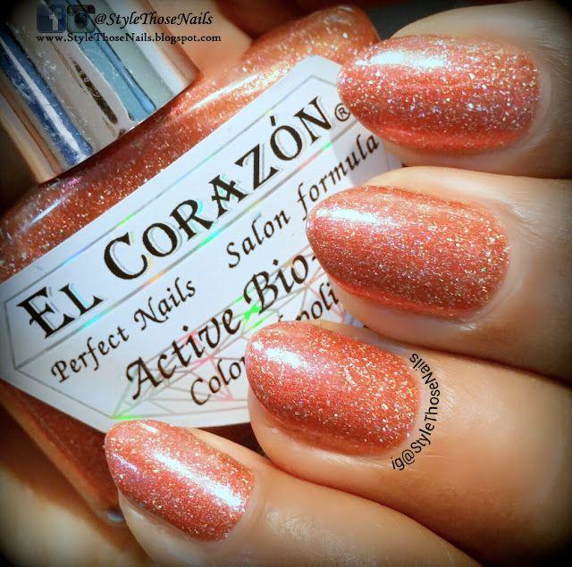 http://stylethosenails.blogspot.com/2015/08/el-corazon-423458-gemstones-andesine.html Style Those Nails: El Corazon 423/458 Gemstones: ANDESINE - Swatch & Review