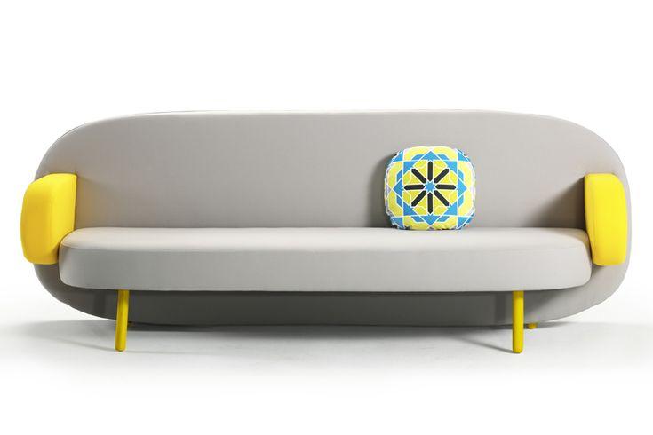 El sofá de Karim Rashid para Sancal