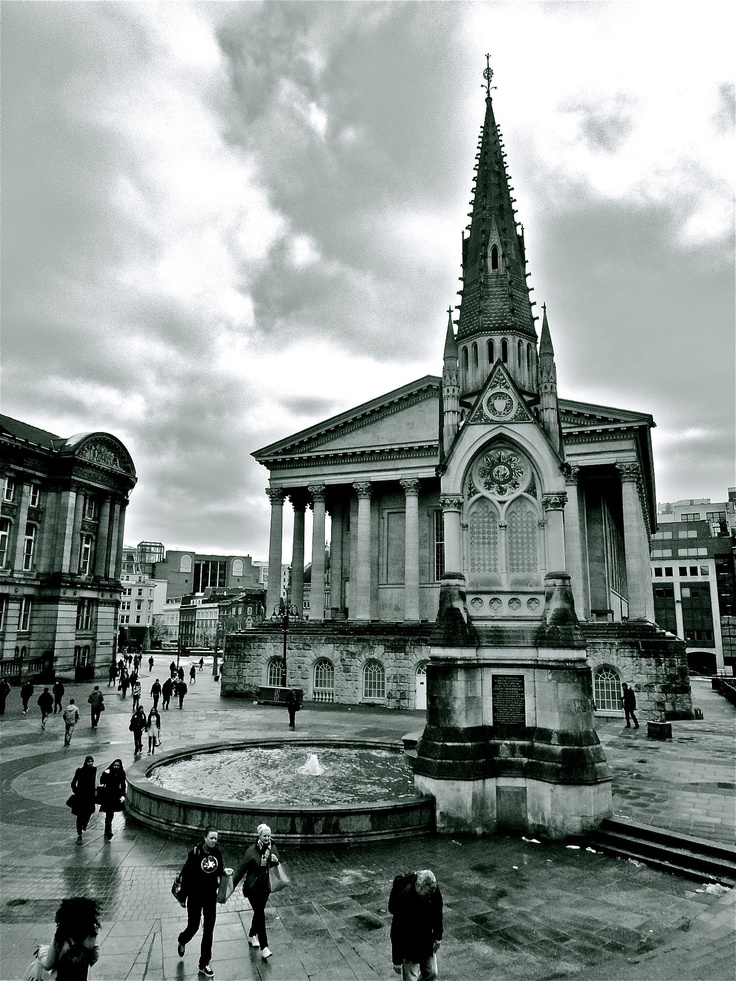 Birmingham,England  Travelling  Archtecture  Black and White  Photography     Taken by me.